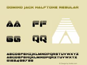 Domino Jack Halftone