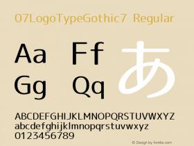 07LogoTypeGothic7