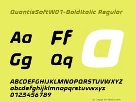 QuantisSoft-BoldItalic
