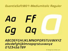 QuantisSoft-MediumItalic