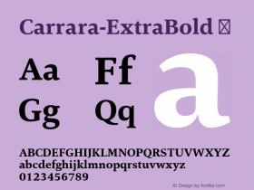 Carrara-ExtraBold