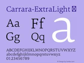 Carrara-ExtraLight