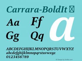 Carrara-BoldIt
