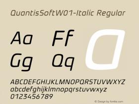 QuantisSoft-Italic