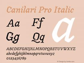 Canilari Pro