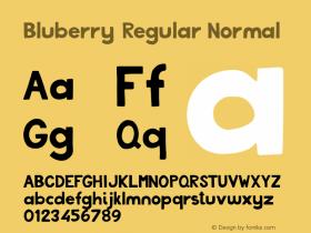 Bluberry Regular