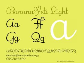 BananaYeti-Light