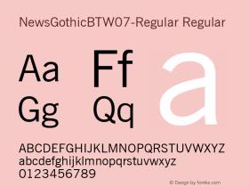 NewsGothicBT-Regular