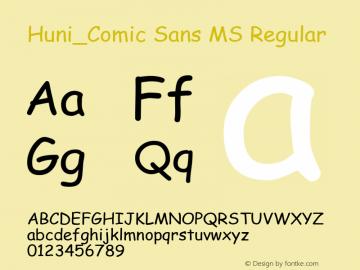 Huni_Comic Sans MS