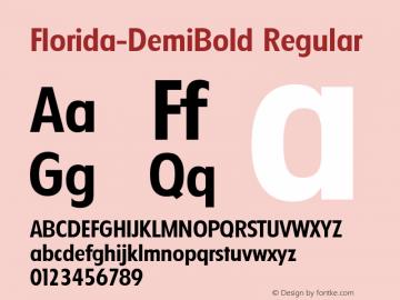 Florida-DemiBold