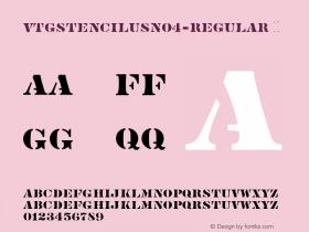 VtgStencilUSNo4-Regular
