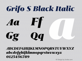 Grifo S Black