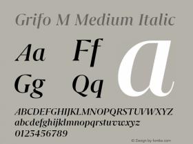 Grifo M Medium
