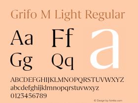 Grifo M Light