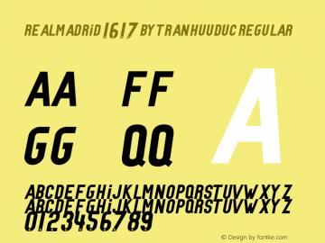 RealMadrid 16-17 by TranHuuDuc