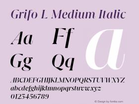 Grifo L Medium