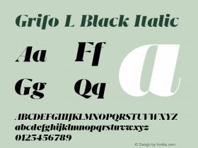 Grifo L Black