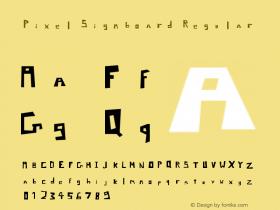 Pixel Signboard