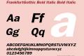 FrankfurtGothic Bold Italic