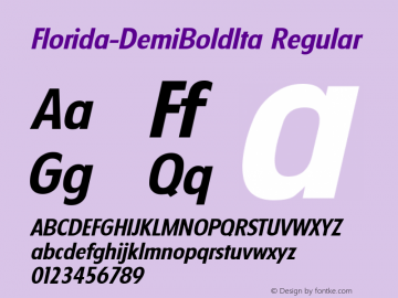 Florida-DemiBoldIta