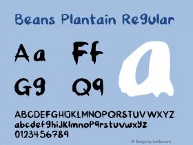 Beans Plantain