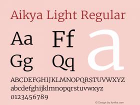 Aikya Light