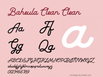 Baheula Clean