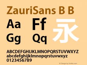 ZauriSans B