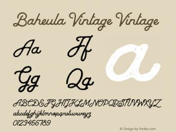 Baheula Vintage