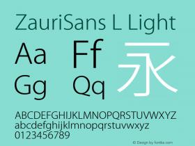 ZauriSans L