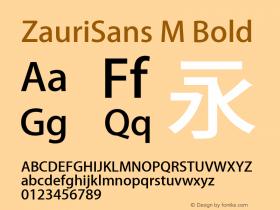 ZauriSans M