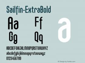Sailfin-ExtraBold