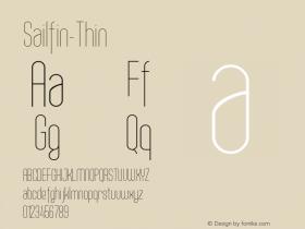 Sailfin-Thin