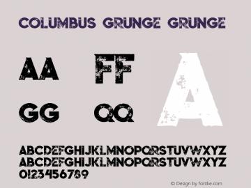 Columbus Grunge