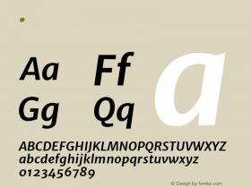 Merriweather Sans Bold Italic