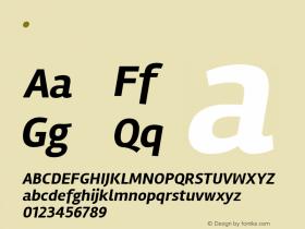 Rambla Bold Italic