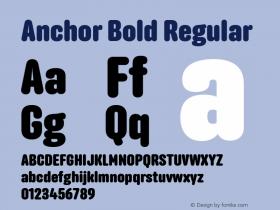 Anchor Bold