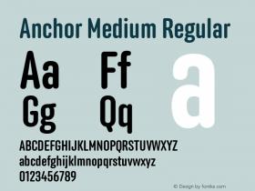 Anchor Medium