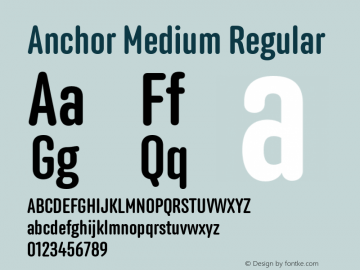 Anchor Medium