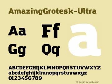 AmazingGrotesk-Ultra