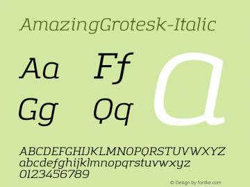 AmazingGrotesk-Italic