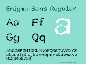 Enigma Sans