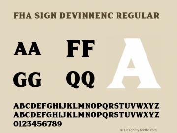 FHA Sign DeVinneNC