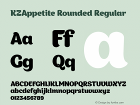 KZAppetite Rounded