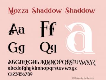 Mozza Shaddow