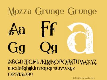 Mozza Grunge