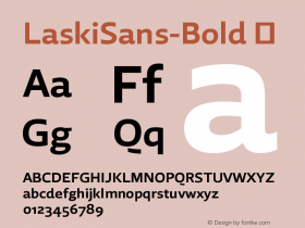 LaskiSans-Bold
