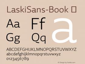 LaskiSans-Book