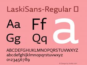 LaskiSans-Regular