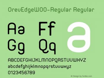 OrevEdge-Regular